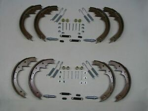 8 Brake Shoes W Adjusters Hardware 52 53 54 55 Buick Special 40 Series New