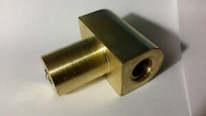 Clausing 4900 37 Dl 453 10 12 Lathe Cross Feed Nut 1 2 10 Left Hand Acme