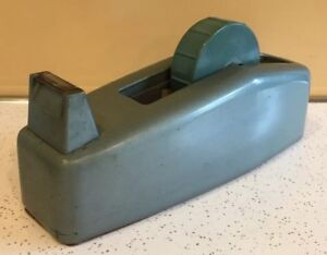 Vtg Heavy Duty Scotch Tape Metal Dispenser Mid Century Industrial Steam Punk