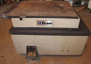 Team Corporation Model 482 036 Slip Vibration Table 2559
