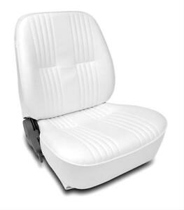 Scat Seat Lowback Series 1400 Reclining Passenger Side Vinyl White Each