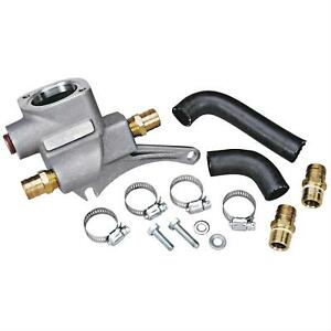 Trick Flow Thermostat Housing Crossover Aluminum Ford 351w Cleveland Heads Kit