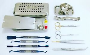 Dental Prf And Grf Box Prf Process Usa Stock Complete Implant Instruments Set