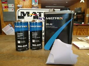 Ms 42 Matrix System Gallon Clear Coat Kit Your Choice Of Hardeners