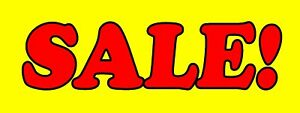 Sale Banner Sign Cars Sell Signs Dealer Dealership Store Buy Here