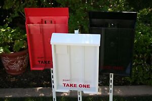 Real Estate Brochure Boxes Set Of 3