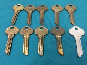 Sargent By Curtis Ilco S6 Keyway Key Blanks Set Of 10 Locksmith