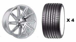 19 Smf Cc A Alloy Wheels Tyres Fits Ford Focus Mondeo C S Max Edge Kuga 5x108