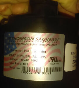 Thomson Saginaw 7830123 Electric Linear Actuator