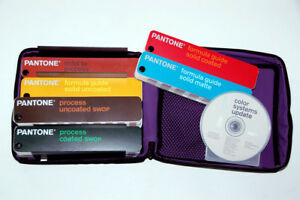 Pantone Color Guide Formula Coated uncoated 6 Book Library W cd