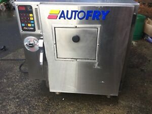 Stainless Steel Autofry Model Mti 10 Ventless Hoodless Countertop Deep Fryer