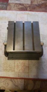6 1 8 X 6 1 8 Sine Plate Adjustable Leveled Steel Plate With T nut Slots