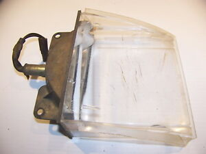 1970 Plymouth Barracuda Cuda Front Parking Light Assembly Oem Rh 3403080