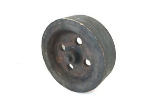 Vtg 16 Wood Wheel Pulley Foundry Mold Pattern Form Old Industrial Salvage 255h