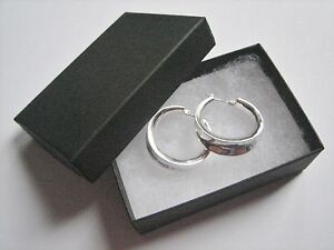 Jewelry Gift Boxes 3 1 16 X 2 X 1 Black 100 Earrings Pins Cotton Filled 32