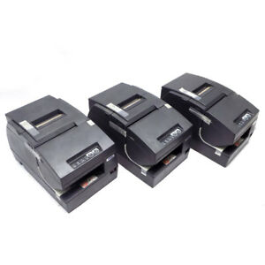 lot Of 3 new Epson Tm h6000iii Type M147g Thermal Point Of Sale Receipt Printer