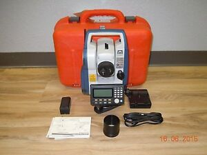 Sokkia Topcon Cx 105 Total Station 5 Sec Reflectorless Lr Bluetooth Dual Screen