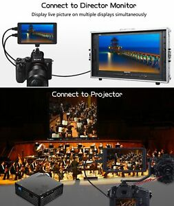 Koolertron 5 Camera Field Monitor 1920x1080 Ips Video For Dslr hdmi In out