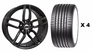 18 Gm Drs Alloy Wheels Tyres Fits Ford Focus Mondeo C S Max Edge Kuga 5x108