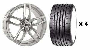 18 S Drs Alloy Wheels Tyres Fits Ford Focus Mondeo C S Max Edge Kuga 5x108