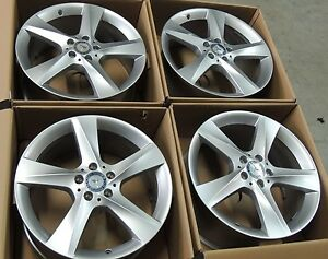 4 2018 Mercedes Gle Ml Gl450 Oem Wheel 19 New Take off Pt 1664010202