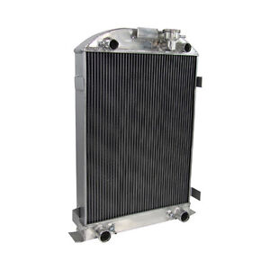 3 Row Aluminum Radiator For Ford Model a Flathead Engine 1930 1931