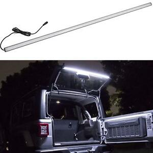 Led Rear Glass Lift Gate Dome Light Bar At Night Great For Jeep Wrangler Jk Jl