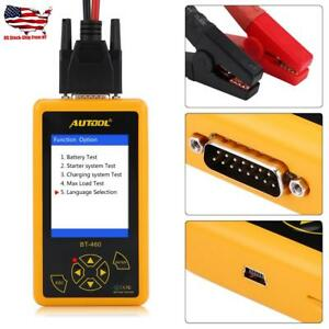 12v Auto Car 24v Truck Battery Tester Digital Vehicle Analyzer Tool Heavy Duty