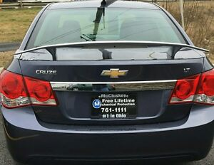 Custom Style Spoiler For 2011 15 Chevrolet Cruze Unpainted Primer