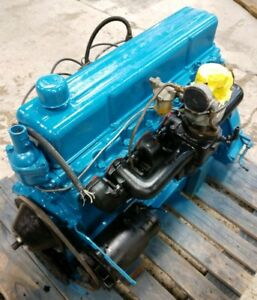 1954 62 Chevrolet 235 261 Cubic In Stovebolt Inline 6 Engine Great Runner