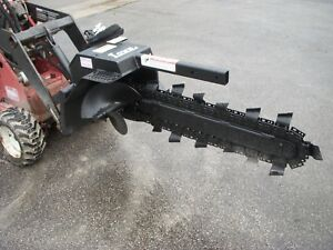 Toro Dingo Mini Skid Steer Attachment Lowe Xr 7 36 By 4 Trencher Ship 199