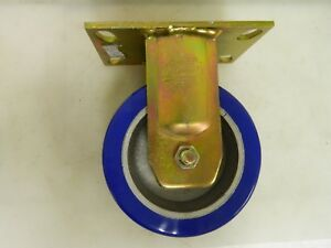 Bassick Caster Wheel 6 Diameter 2 1 2 Wide With Top Plate Mount 6 hjo r