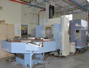 Okk Hm 50s Cnc Horizontal Machining Center 29382