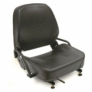 Intella 89139281 Vinyl Forklift Flips Forward Seat With Safety Switch For Lp