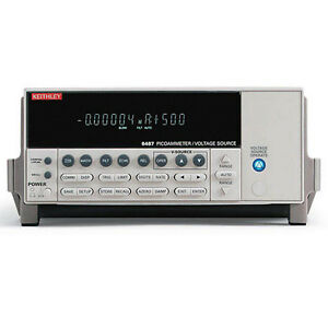 Keithley 6487 Single channel Picoammeter voltage Source W gpib rs 232