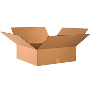 Boxes Fast Bf24248 Corrugated Cardboard Flat Shipping Boxes 24 X 24 X 8 For