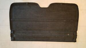 Rare Honda Crx Jdm Rear Cargo Cover For Use With Jdm Rear Seat Option