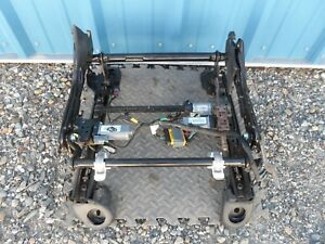11 12 13 14 15 16 Jeep Grand Cherokee 8 Way Power Seat Track Driver Lh No Memory