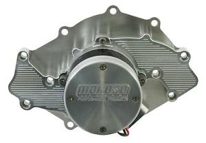 Moroso Water Pump Electric 30 37 Gpm Billet Aluminum Clear Ford 429 460 Ea