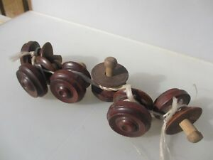 Antique Wooden Dresser Knobs Chest Of Drawer Handles Pulls Hardware Old