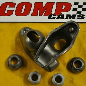 Comp Cams 1218 16 High Energy Steel Chevy Sbc 1 6 3 8 Stud Roller Rockers Arm