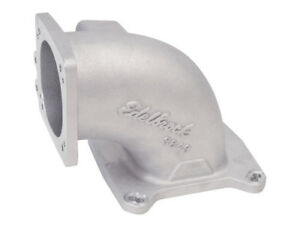 Edelbrock 3849 High Flow Intake Elbow 95mm Throttle Body To Square bore Flange