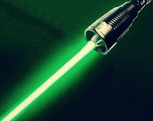 Military High Power 1 7w 515nm Green Laser Pointer Burning Light Reach Star Beam