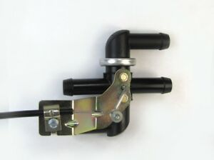Cable Operated Bypass Heater Valve Pull To Open