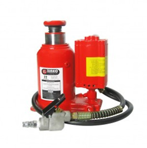 Zinko Zabj 22pb 22 Ton Capacity Low Profile Air hydraulic Bottle Jack