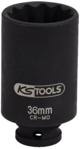 Ks Tools 150 1707 Special Drive Shaft Impact Socket 1 2 36mm