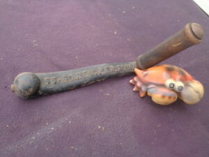 Vintage Hit Miss Engine Crank And Handle 55 60 Rev Per Minute Rpm 3 4 Shaft