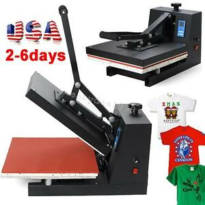 Usa Transfer Sublimation T shirt Cloth High Pressure Heat Press Printing Machine