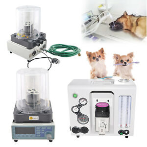 Ce Anaesthesia Machine led Ventilator Breathe Monitor Bellows Veterinary Animal