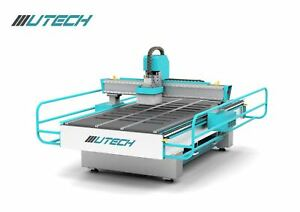 3 2kw Metal Water cooling Cnc Router Woodworking Machine Dsp 1300mm 2500mm